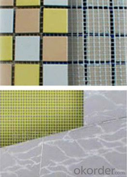120gsm ,5mm*5mm Alkali Resistant Fiberglass Marble Mesh for Buildings