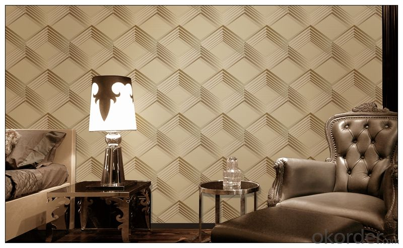 3d Wallpaper PVC Modern Design Wallpapers For Home Decoration