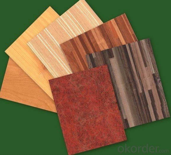 Polyester Paper Overlay Plywood Board for Inner Home Decoration