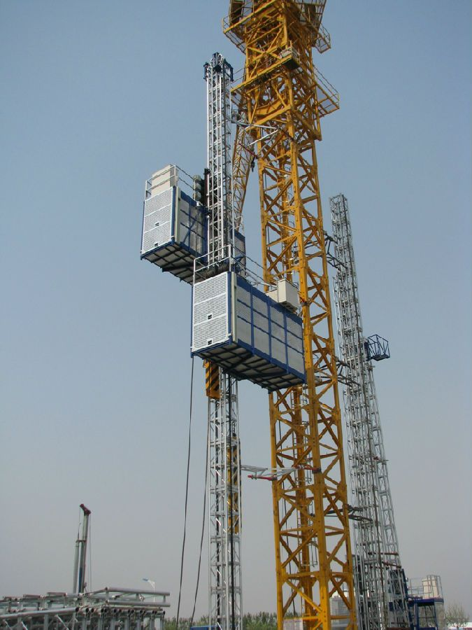 Power Motor Construction Hoist with CE ISO for Sale