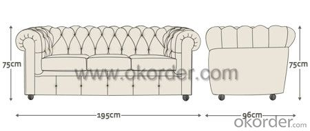 Winchester Chesterfield Sofa for Luxurious House