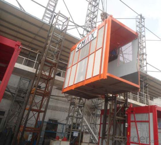 Building Hoist Single Cage China Professional Supplier