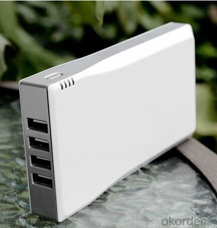 Solar Charger--Portable Mobile Phone For  5200Mah Mobile