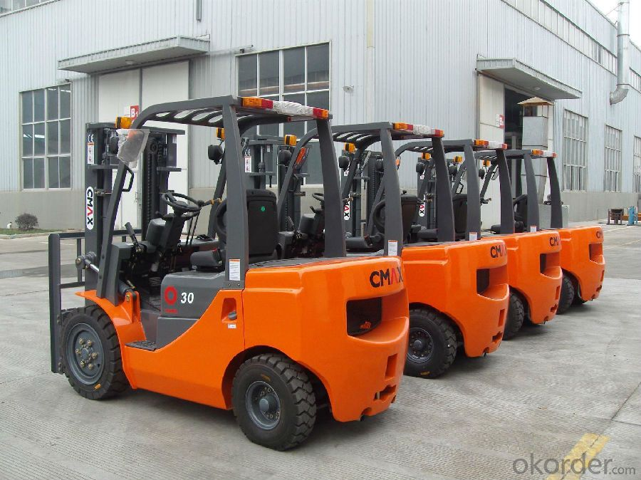 High Efficent Small 3.0T Forklift Truck with Good Price