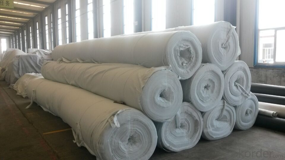 Geotextile Non Woven PP Earthwork for Road and Railway