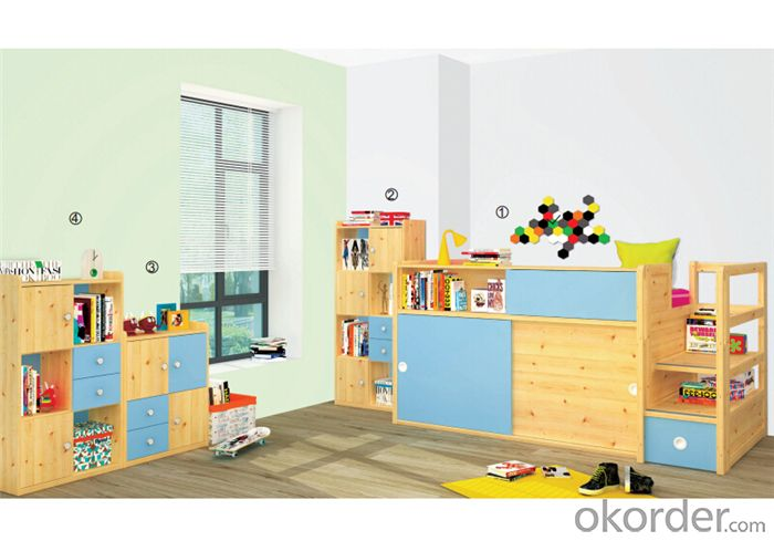 Kids Bedroom Furniture with Environmental Material