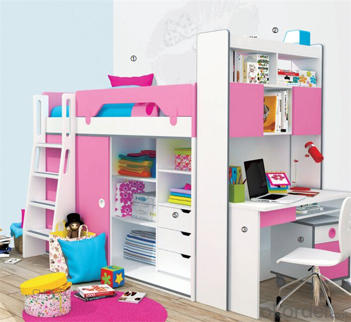 Kids Bedroom Furniture Set with High Quality