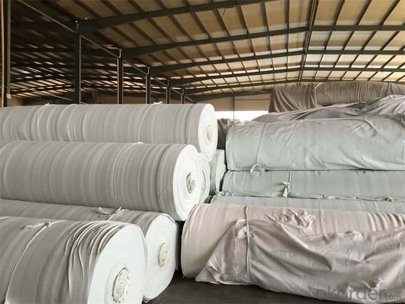 Geotextile Woven PP Earthwork for Road Construction