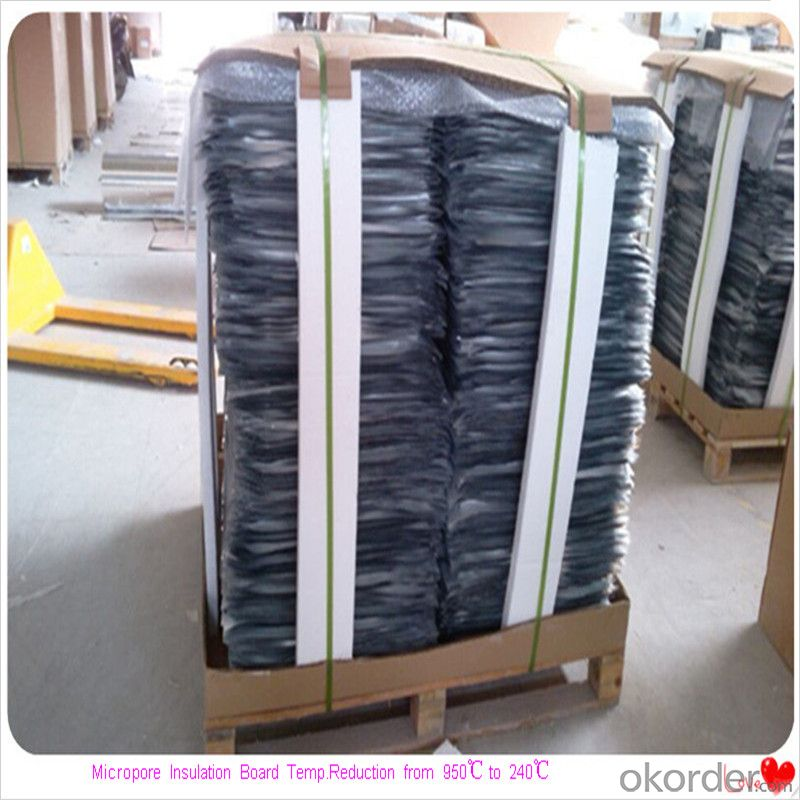 Insulation Layer Using Microporous Insulation Boards Ladle Furnace Reduction From 950℃ to 240℃