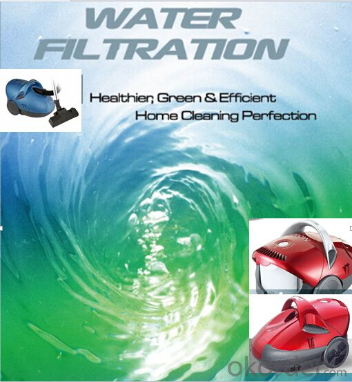 Water Filtration Vacuum Cleaner Cyclonic Wet and Dry Bagless with H10 HEPA