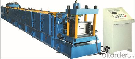 Ridge Cap Cold Roll Forming Machine for Glazed Tile