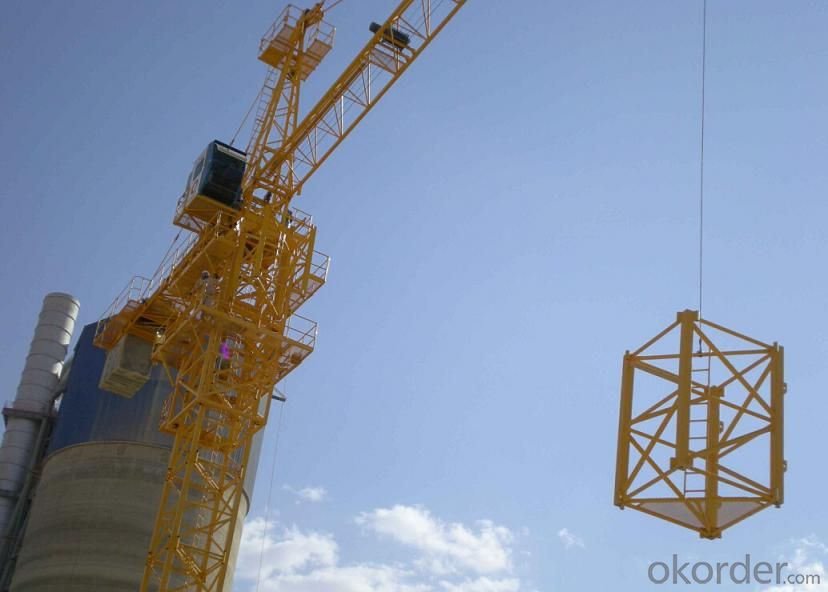Tower Crane of TC6010 with 6Ton Max Load and Span of 60M