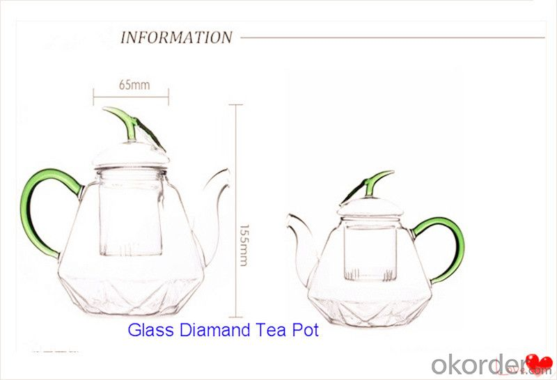 Borosilicate Glass Coffee Pot/Tea Pot/Water Jug