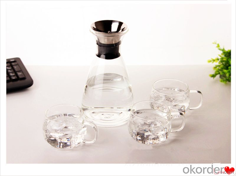 Water Pitcher,Glass Pitcher,Drinking Glass Pot