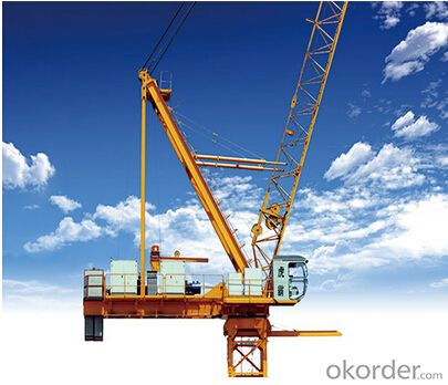 Luffing Tower Crane of TCD420 with 25 Ton Max Load