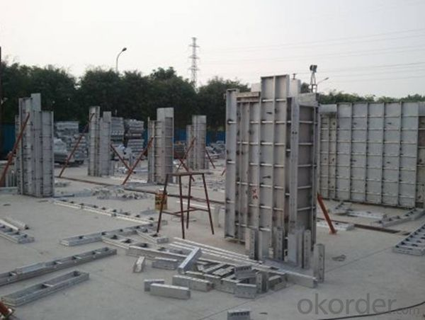 Environmental Protection Aluminum Shoring System for Engineering Construction