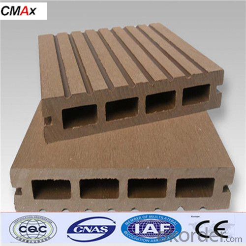 Popular And Cheap Hollow Composite Decking