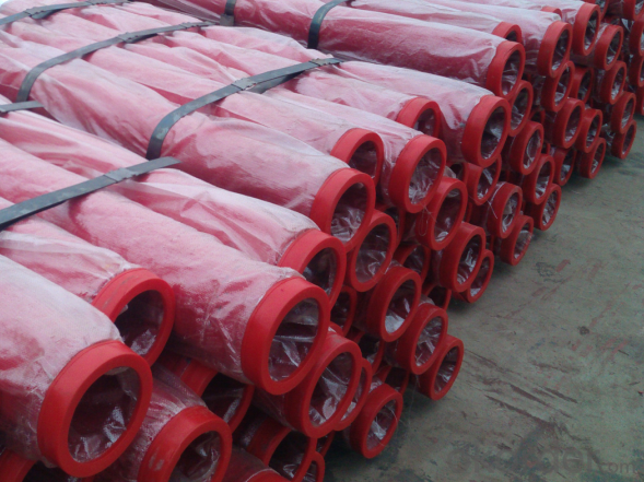 Concrete Pump Truck Parts Delivery Pipe Normal Pipe DN125 1MTR Thick 3.2MM ST52