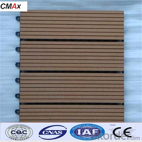 Water Proof WPC Decking For Swimming Pools