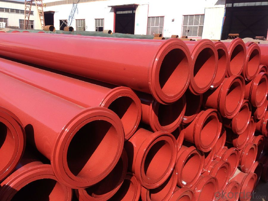 Concrete Pump Truck Parts Delivery Pipe Hardened Pipe DN125 3MTR Thick 4.5MM