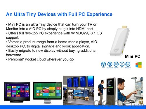 Intel Windows Mini PC Turn Your TV into Computer