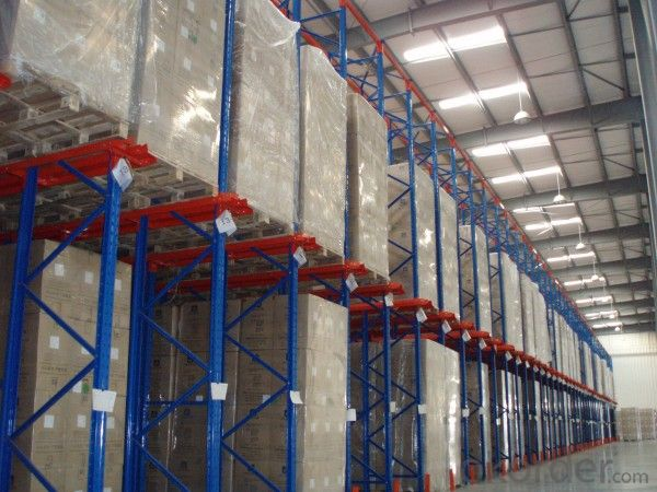 Drive-in Pallet Racking for Warehouse Storage