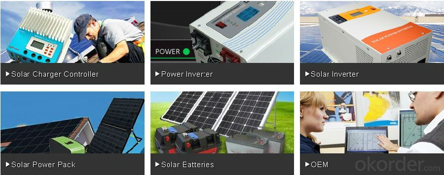 Solar Power Inverter with Excellent Quality 2015 Very Popular New Function