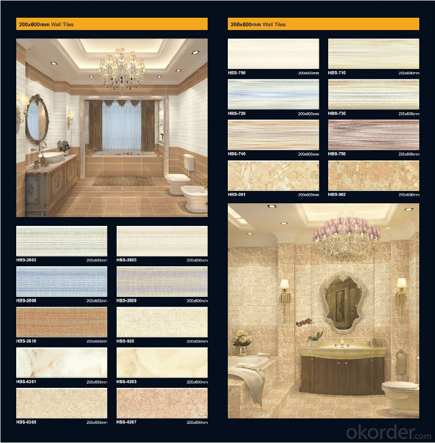 Polished Porcelain Tile Wholesale for House Decoration