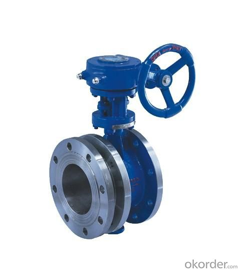 Butterfly Valves Ductile Iron Wafer Type DN710