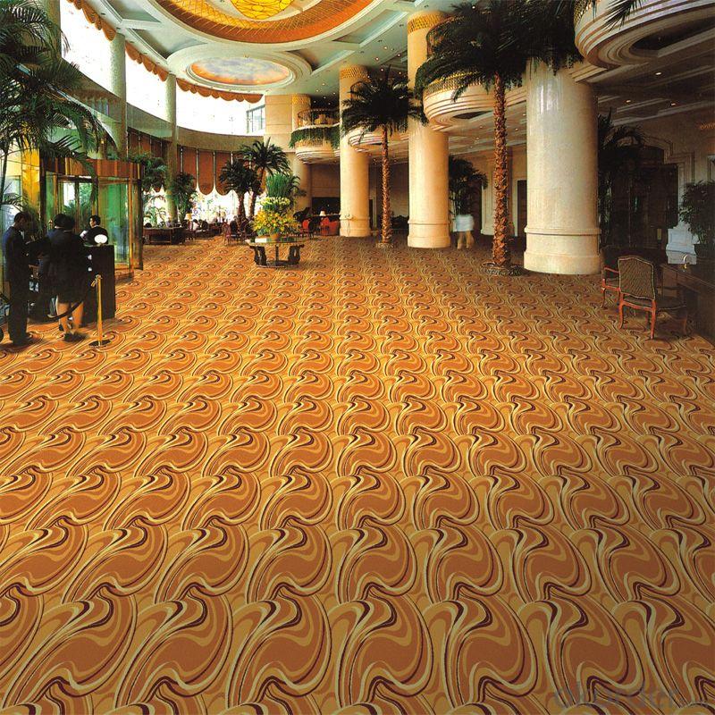 100% Nylon Printed Commercial Carpet Rolls