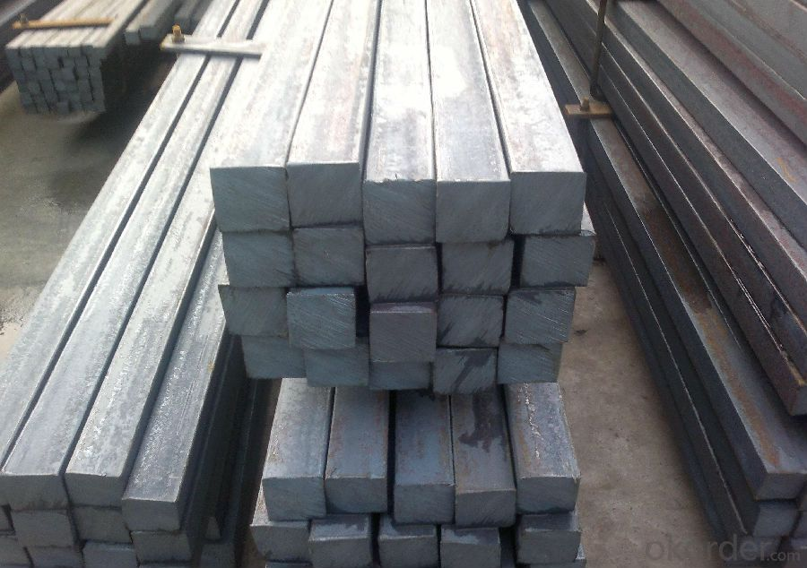 Hot Rolled Steel Square Bar with the Size 100mm