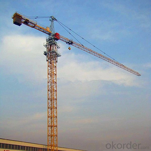 Tower Cranes of the Construction Equipment QTZ80(6010)