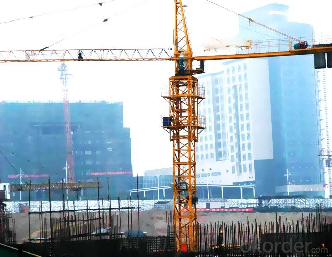 Tower Cranes luffing self-ascending QTZ80(5513)