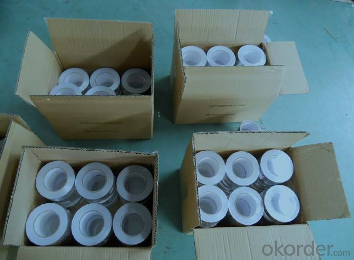 30MIC PURE ALUMINUM FOIL TAPE FOR INSULAITON SYSTEM
