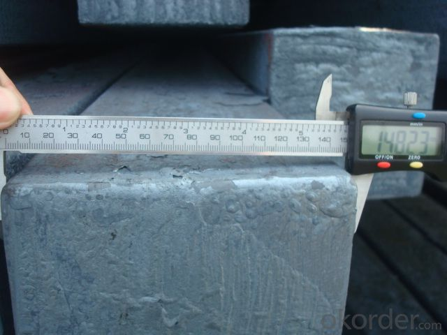Steel Billet Manufactured By Blasting Furnace