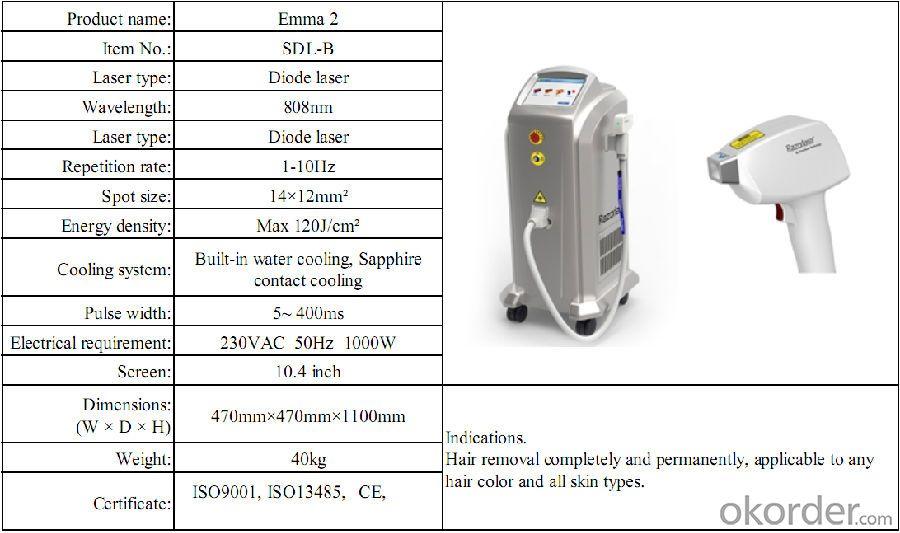 Buy Manufacturer Diode Laser Hair Removal Machine Price Price Size