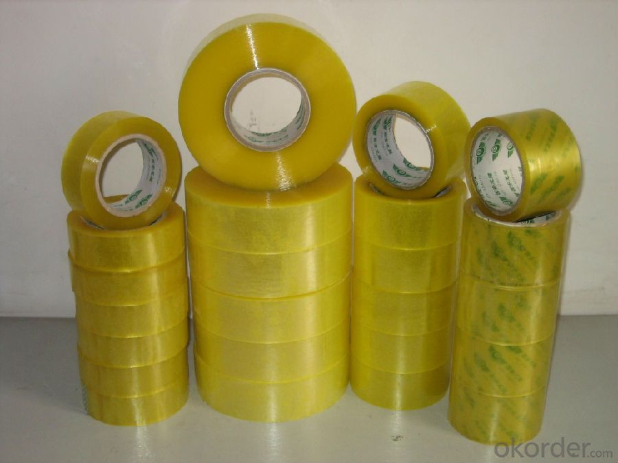 Transparent Water Based Acrylic Bopp Tape