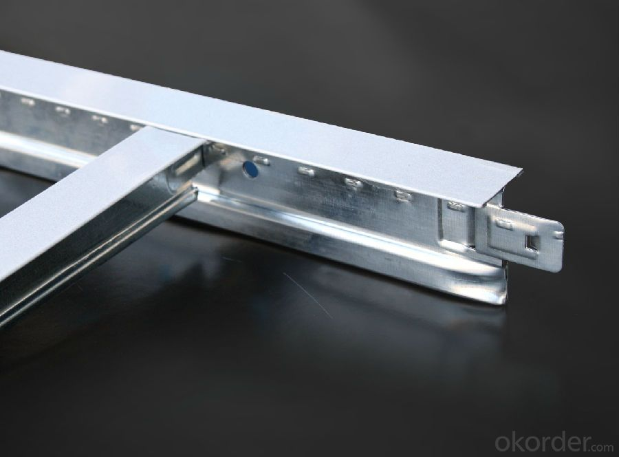 Channel Ceiling System, Ceiling T Grid, Aluminum Grid Ceiling