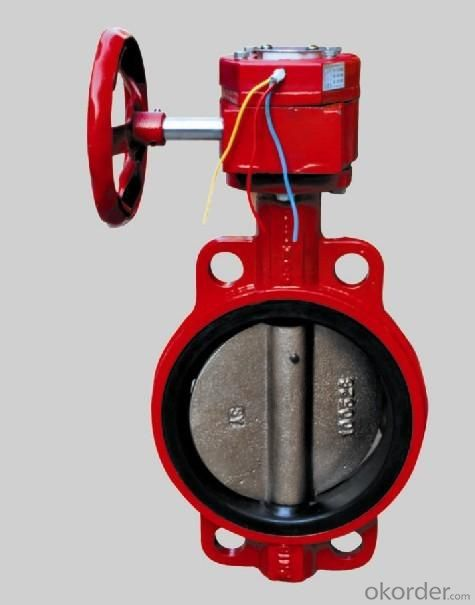 Butterfly Valve DN300 Turbine Type with Hand wheel BS4531