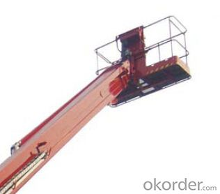 Specification of Self-Propelled Telescopic Boom Lifts GTBZ22S & GTBZ24S