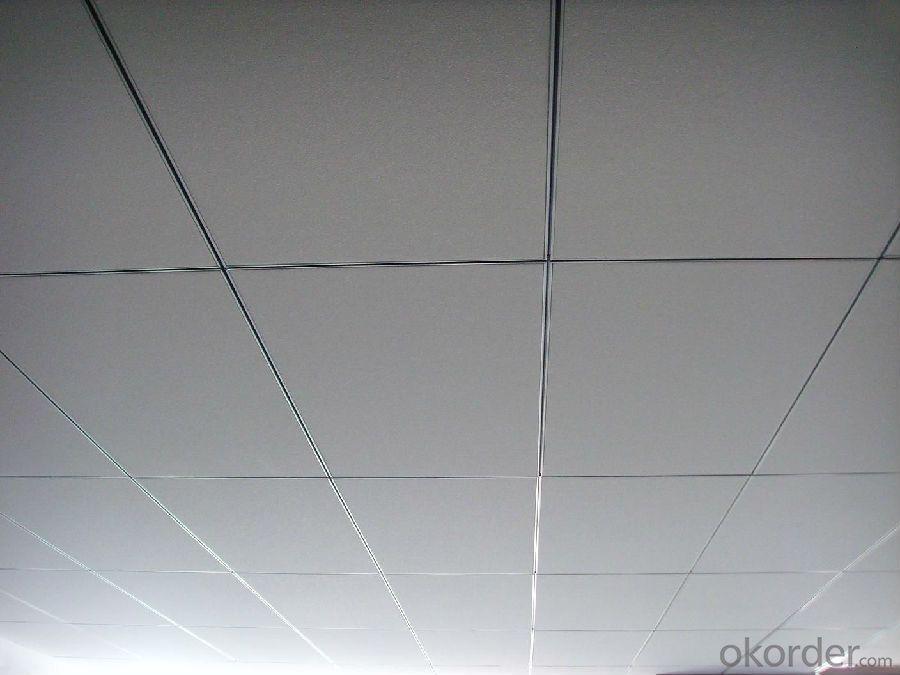 Fiberglass  Ceiling  with  Tegular  Edge