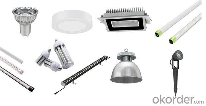 2835 SMD E27/GU10/MR16 patented 5W led spotlight with CE ROHS UL