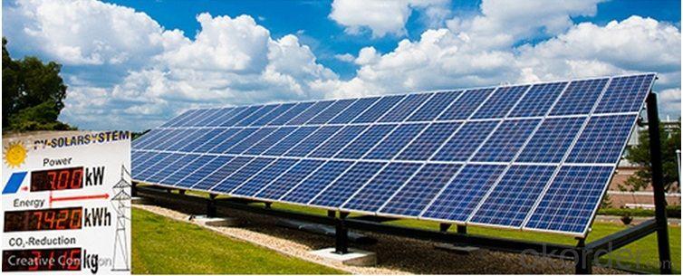 100 Watt Solar Products Made by 36pcs Solar Cell