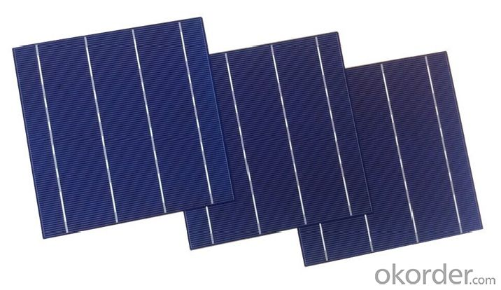 17.6%-18% High Efficiency A Grade 125mm Monocrystalline Solar Cells