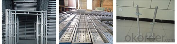Reusable Fixed Galvanized Steel Scaffolding Material High Quality