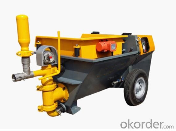 Cement Based  Disel Mortar Pump for Spraying