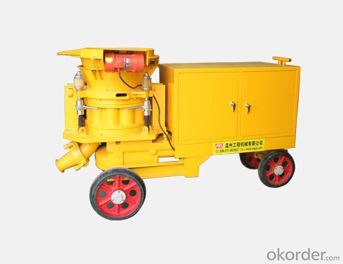 Large Output Wet Concrete Shotcrete Machine