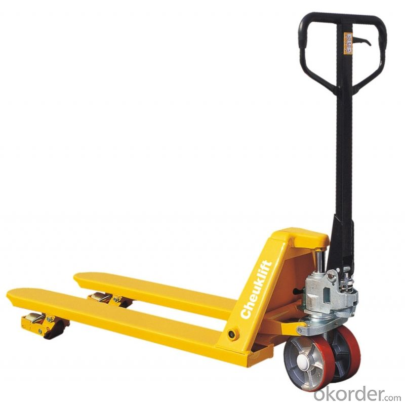 Hydraulic Hand Pallet Truck Manual Pallet Truck with PU Wheel