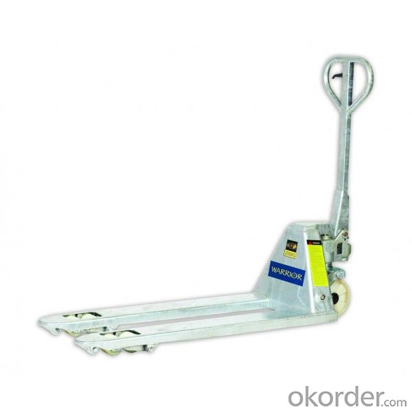 Manual Hand Pallet Truck 2.5t with Nylon Wheel