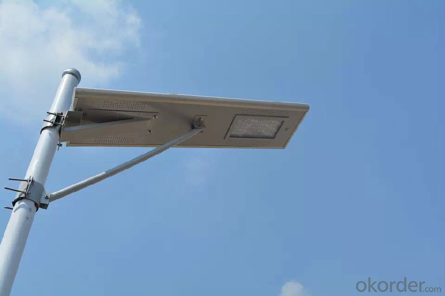 25W all in one  integrated solar LED street light